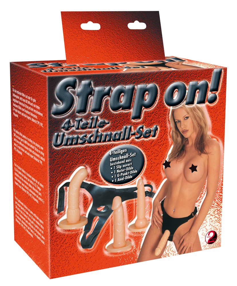 Strap-on! Harness Set - Natur