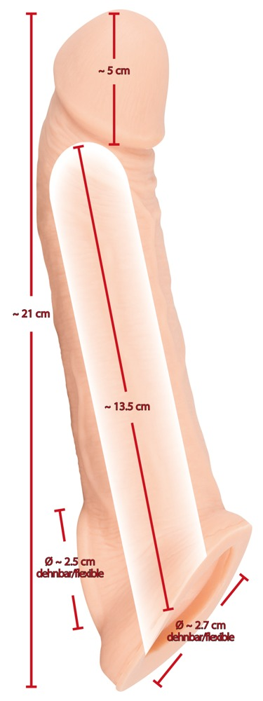 Penis Sleeve with Extension