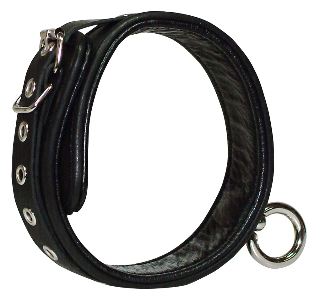 Wild Thing Leather Neckcuff Black S-L