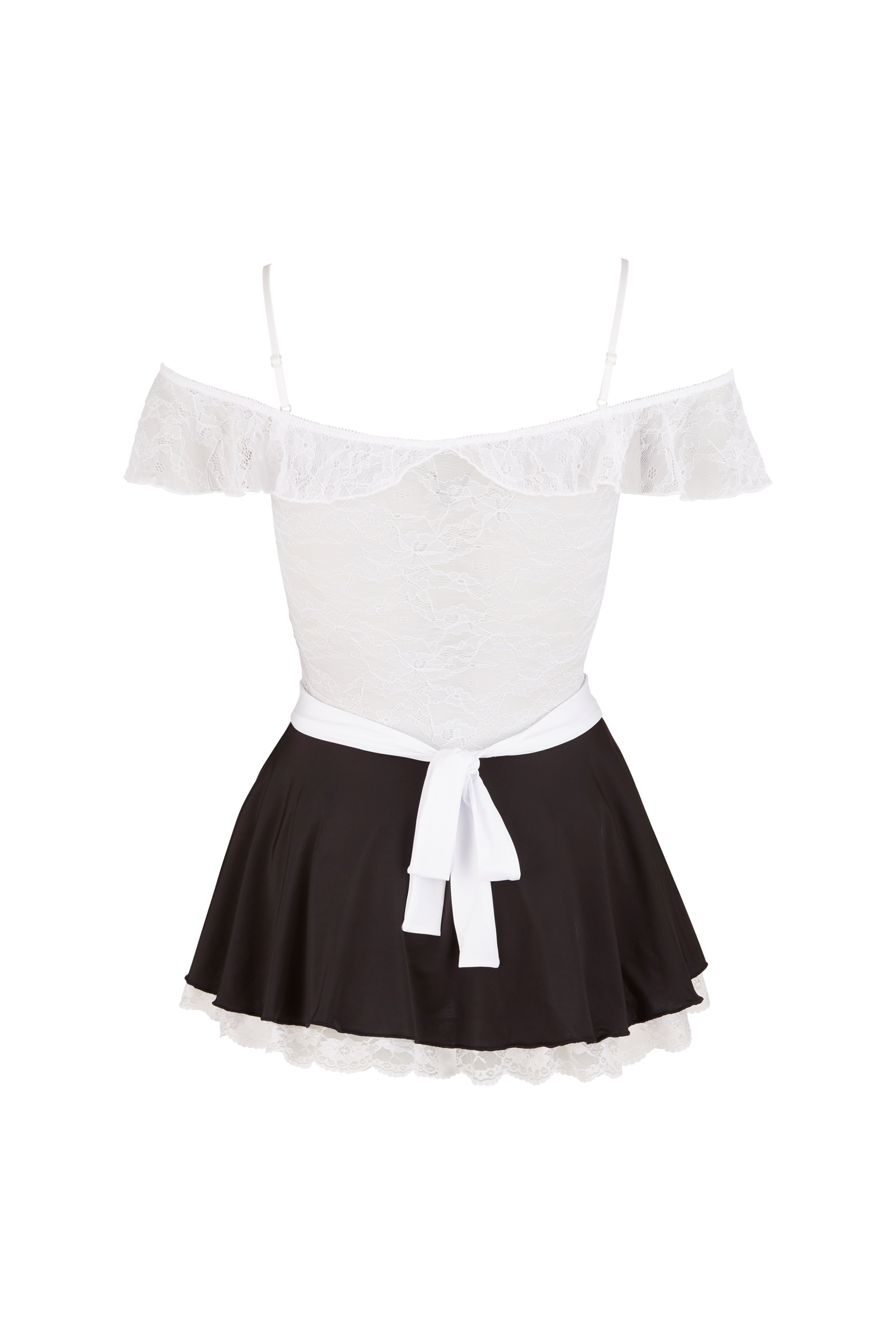 Maid's Dress With Lace Top
