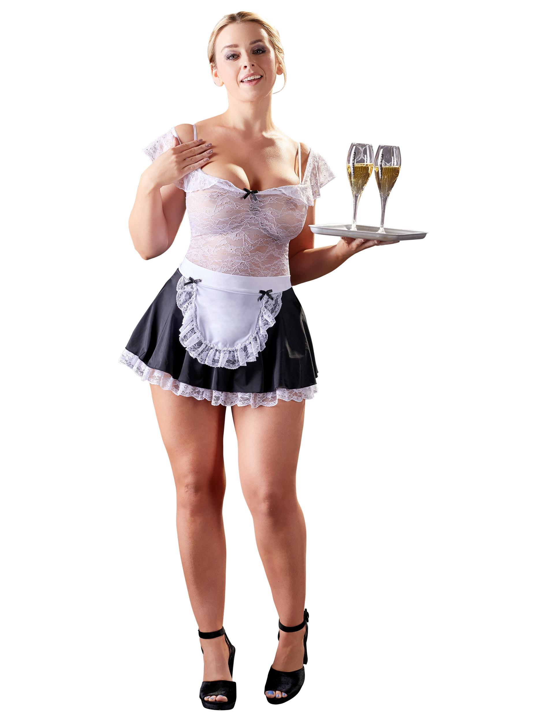 Maid's Dress With Lace Top | LINGERIE & KLÄDER, KLÄDER TJEJ, Rollspel & Maskerad, Brands, Cottelli Collection | Intimast.se - Sexleksaker
