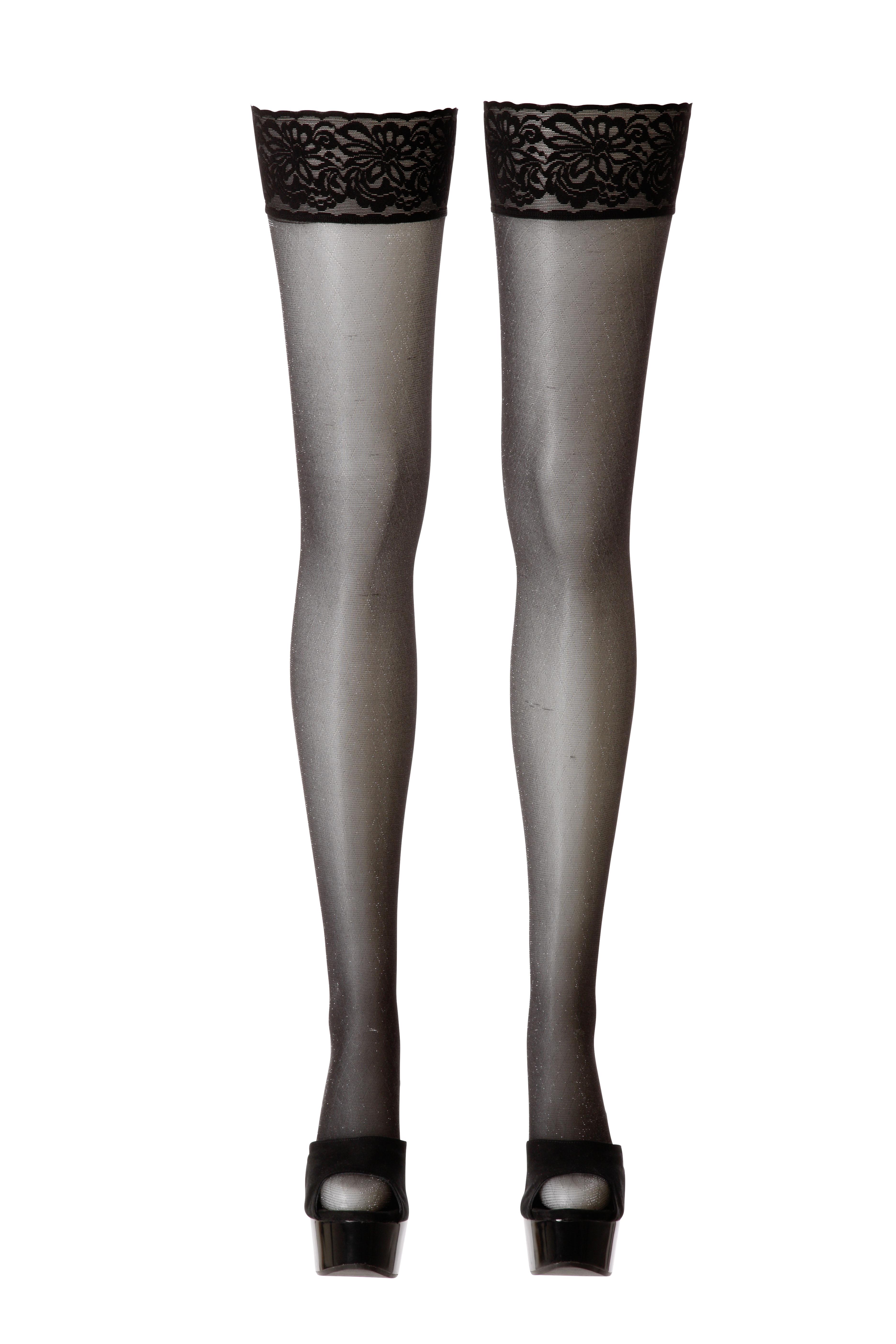 Hold-up Stockings | LINGERIE & KLÄDER, SEXIGA UNDERKLÄDER, Strumpor & Höfthållare, Brands, Cottelli Collection | Intimast.se - Sexleksaker