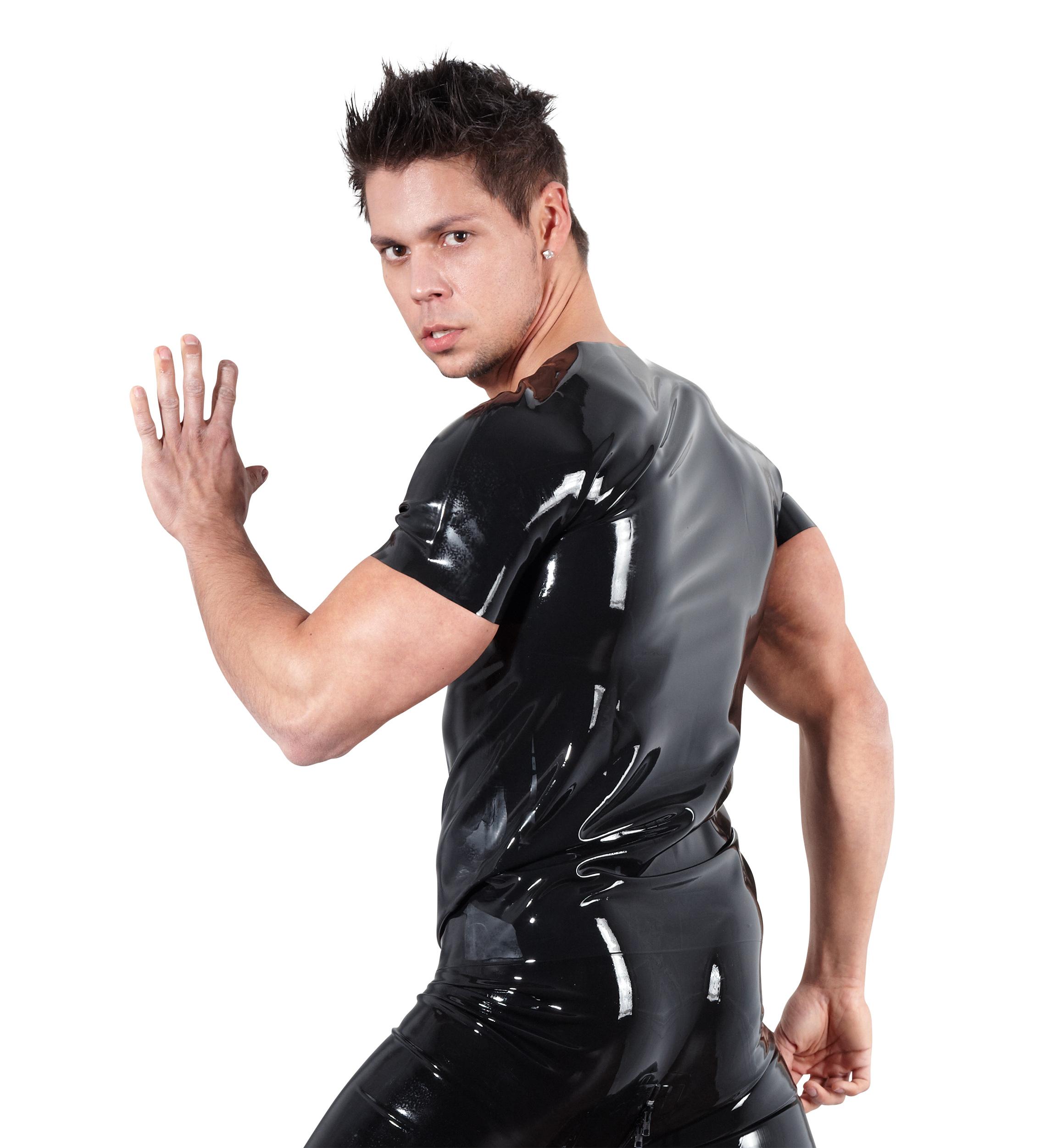Latex Unisex T-shirt | LINGERIE & KLÄDER, KLÄDER KILLE, Tröjor & Västar, Brands, Late-X, FETISHKLÄDER TJEJ, Fetish Body & Playsuits, Fetishkläder för honom | Intimast.se - Sexleksaker