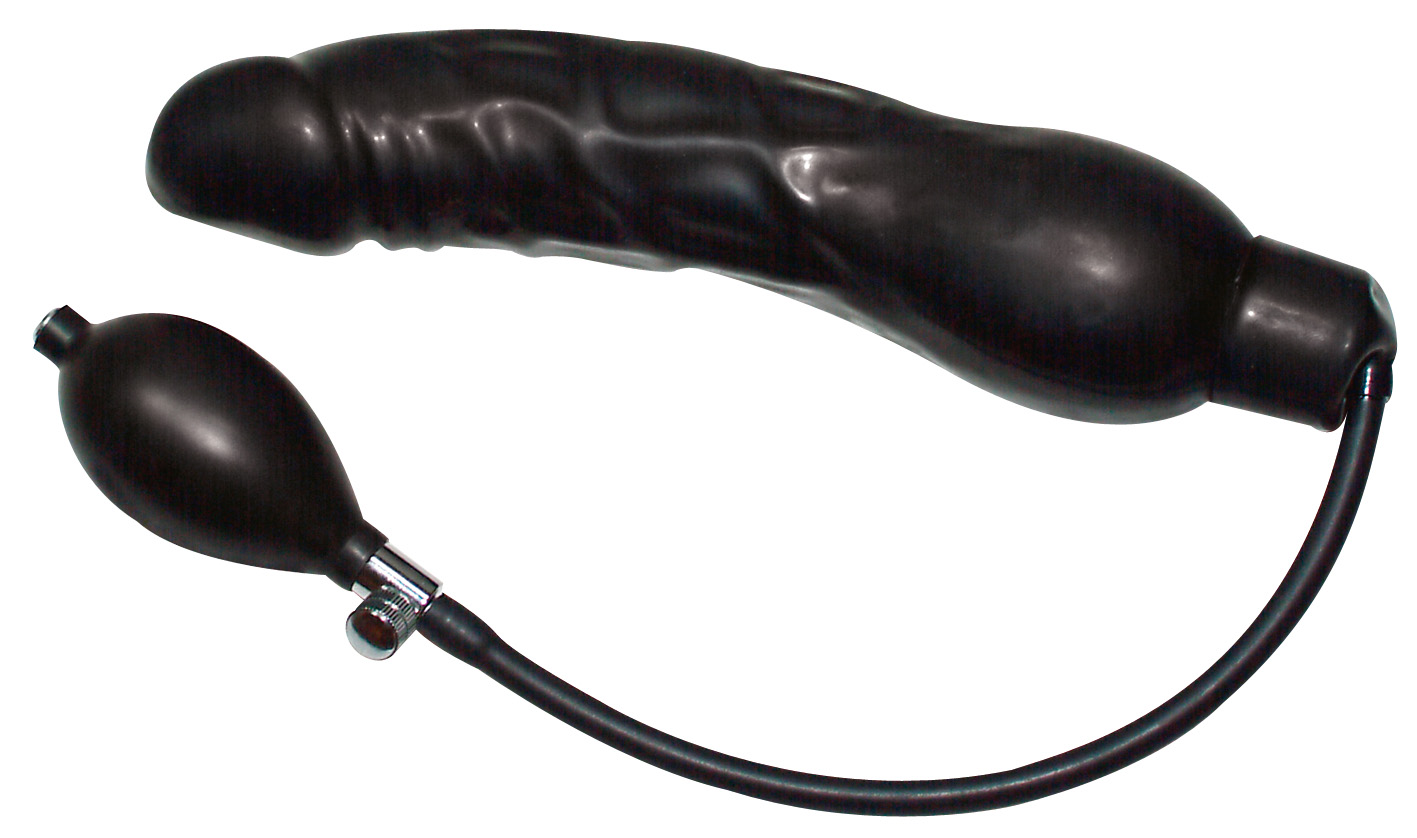 Black Latex Balloon - Large