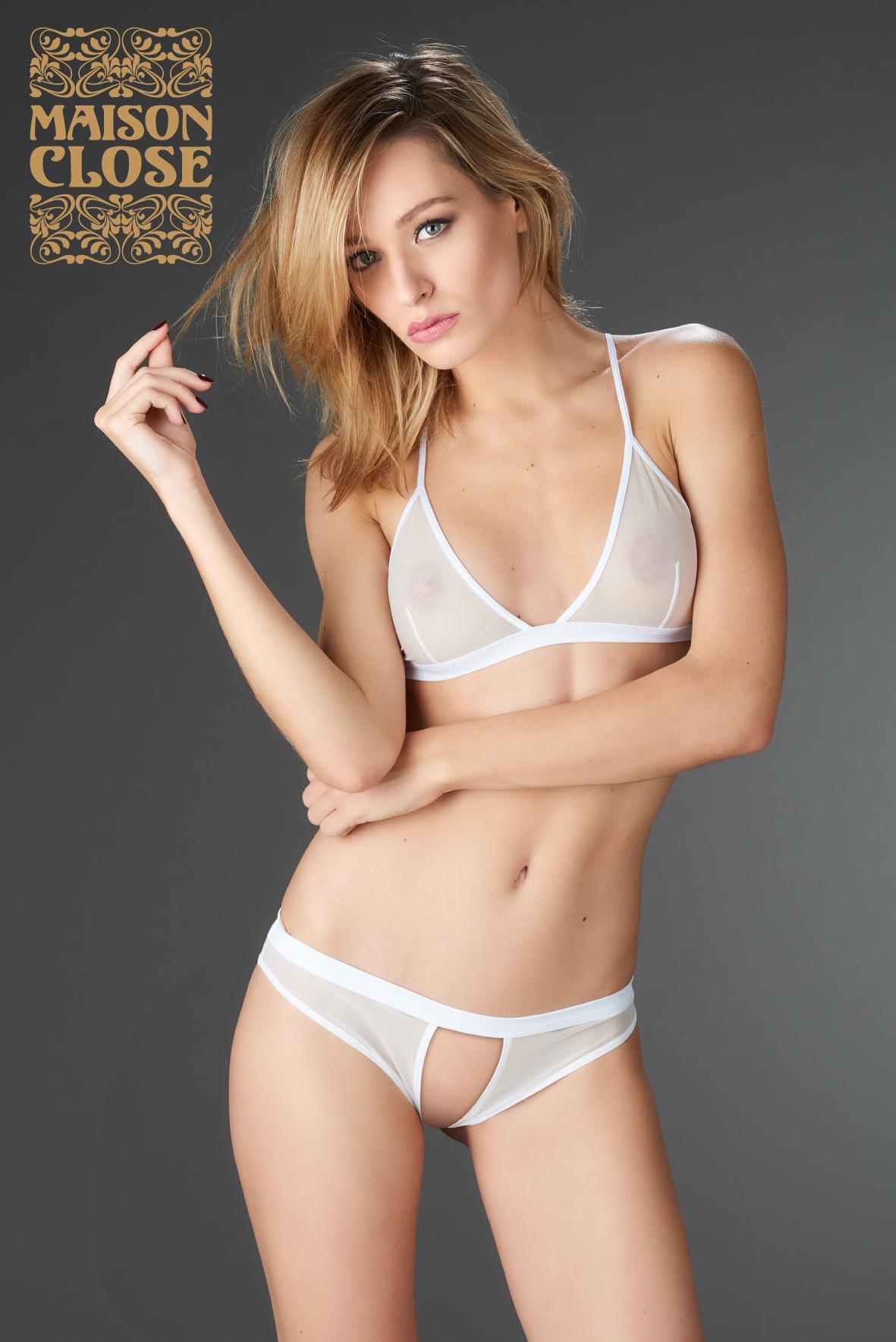 PURE TENTATION OPEN PANTY | Brands, Maison Close, LINGERIE & KLÄDER, SEXIGA UNDERKLÄDER, Sexiga trosor | Intimast.se - Sexleksaker