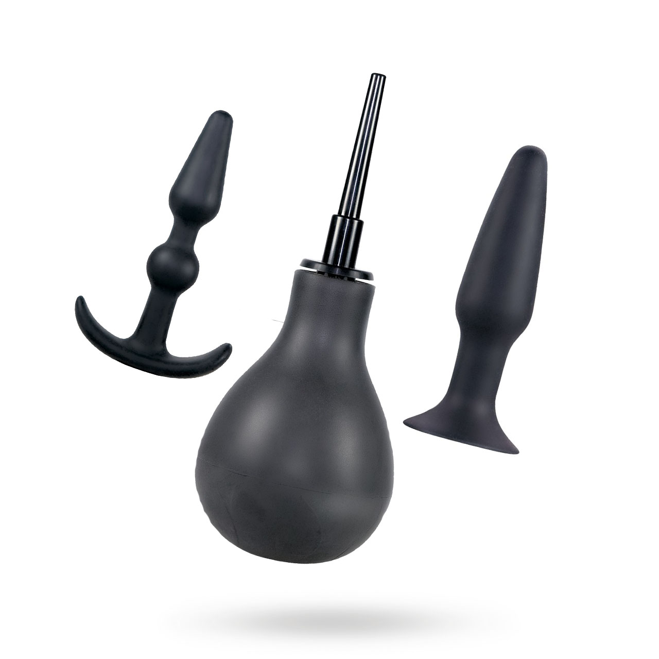 Anal Playbox - Rengörning, Liten Plugg och en Vibrerande Plugg | SEXLEKSAKER, ANALT - UNISEX, Analleksaker i set, Analhygien, Brands, You2Toys | Intimast.se - Sexleksaker