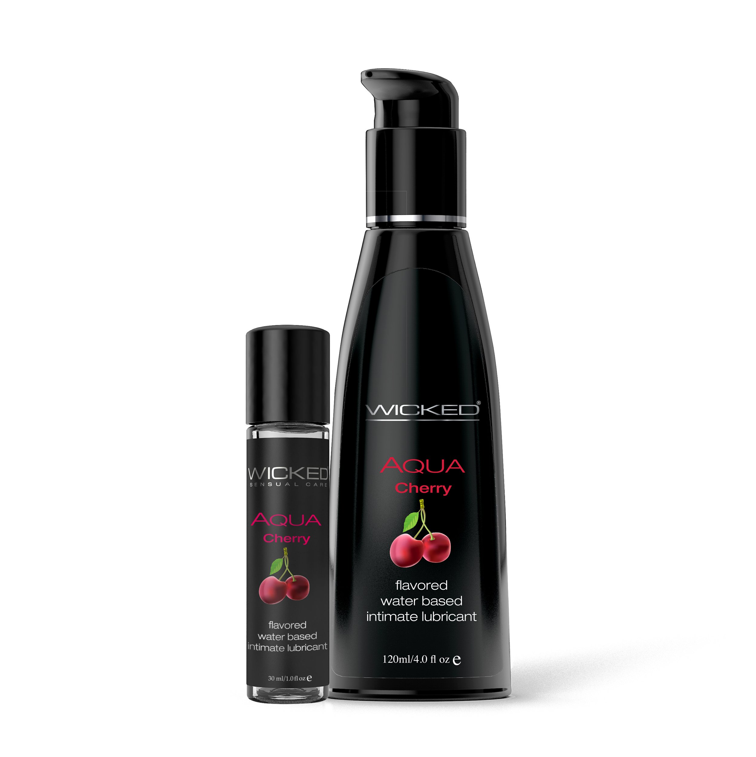 AQUA Cherry | Brands, Wicked Sensual Care, GLIDMEDEL ETC., GLIDMEDEL, Vattenbaserade glidmedel | Intimast.se - Sexleksaker