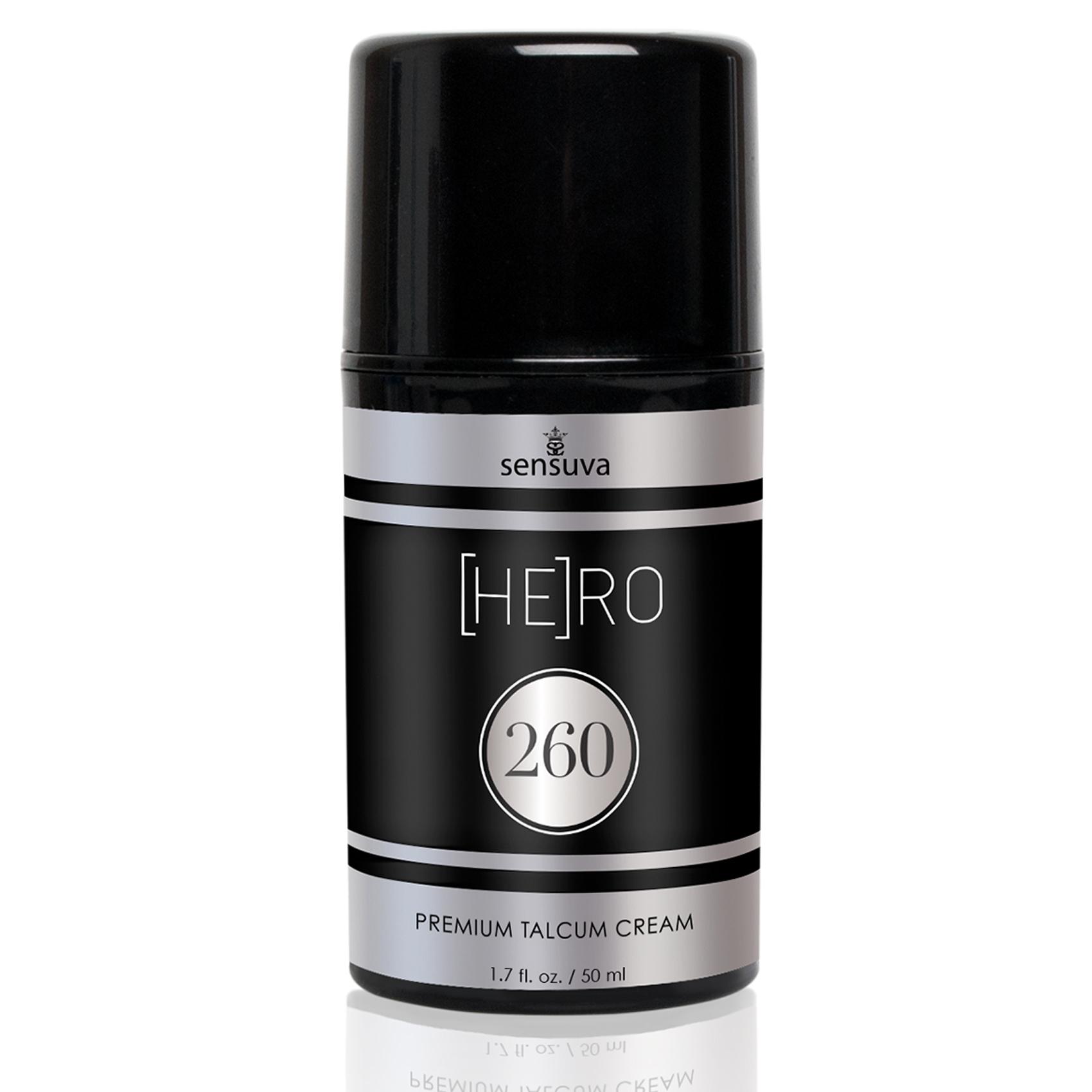 HE(RO) 260 Talcum Cream For Men | GLIDMEDEL ETC., HUSAPOTEKET, Bättre sex för honom | Intimast.se - Sexleksaker