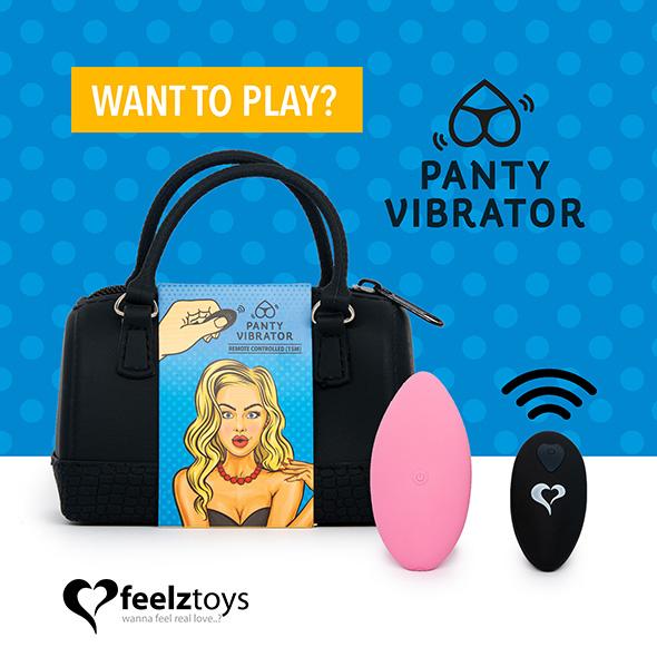 PANTY VIBE REMOTE CONTROLLED VIBRATOR PINK | Brands, Feelz Toys, INSPIRATION, SEXAKTIVITETER, Fjärrstyrda ägg & trosor, SEXLEKSAKER, MEST FÖR HENNE, Vibrerande Ägg & Kulor, Klitorisvibratorer | Intimast.se - Sexleksaker