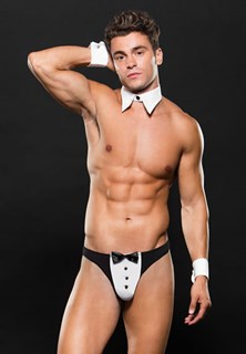 TUXEDO WITH CUFFS/ COLLAR