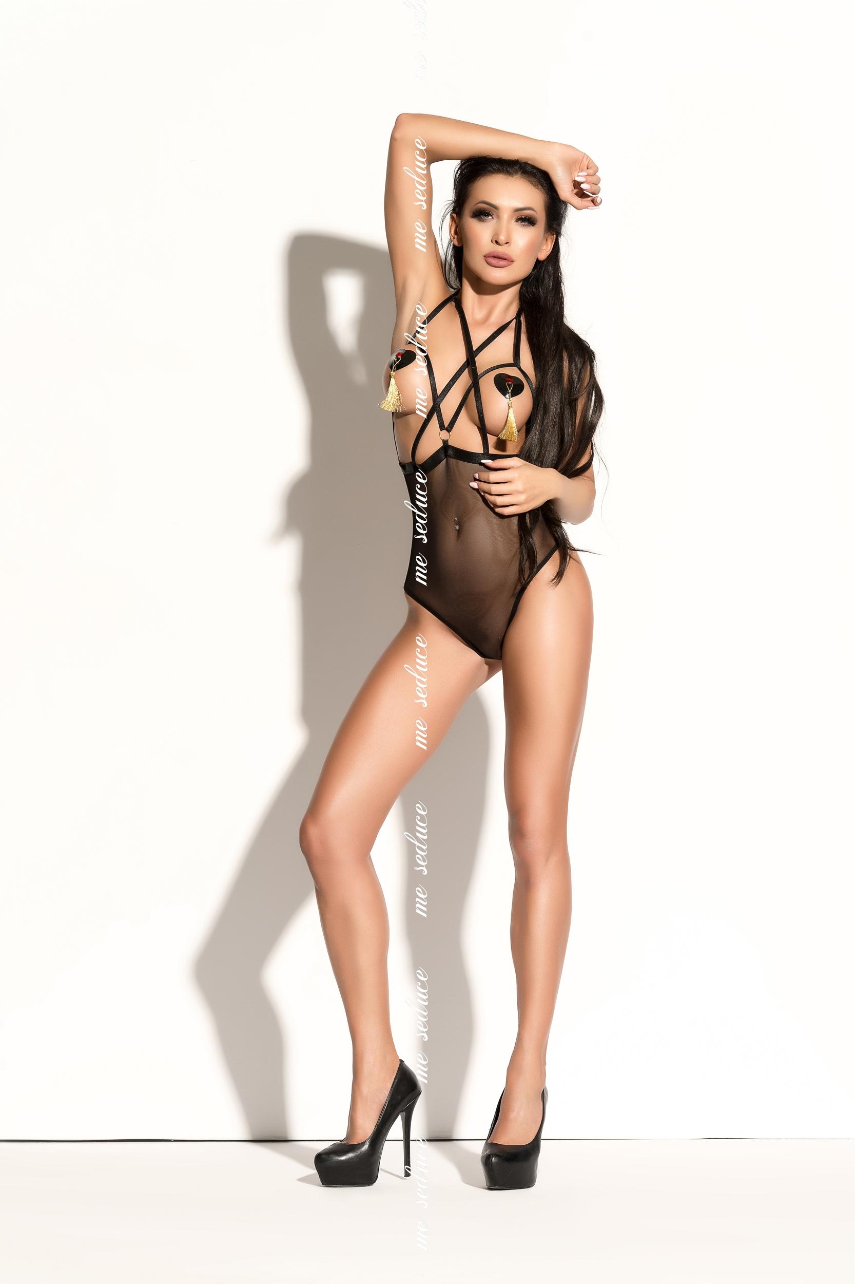 Gold & I - Ginette Body Black | LINGERIE & KLÄDER, FETISHKLÄDER TJEJ, Fetishkläder Plussize, Fetish Body & Playsuits, Brands, Me Seduce | Intimast.se - Sexleksaker