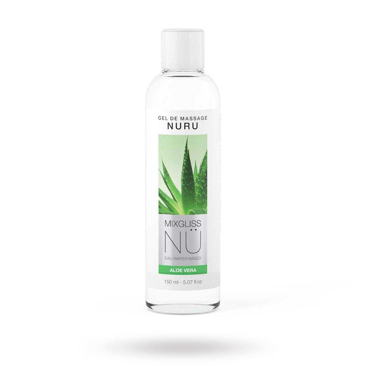 Nuru NU Aloe Vera - Vattenbaserad glidmedel | GLIDMEDEL ETC., GLIDMEDEL, Vattenbaserade glidmedel | Intimast.se - Sexleksaker