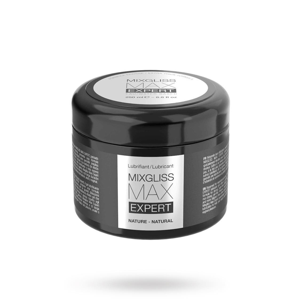 Max Expert Naturell 250ml | GLIDMEDEL ETC., GLIDMEDEL, Fisting, Anala glidmedel, Vattenbaserade glidmedel | Intimast.se - Sexleksaker