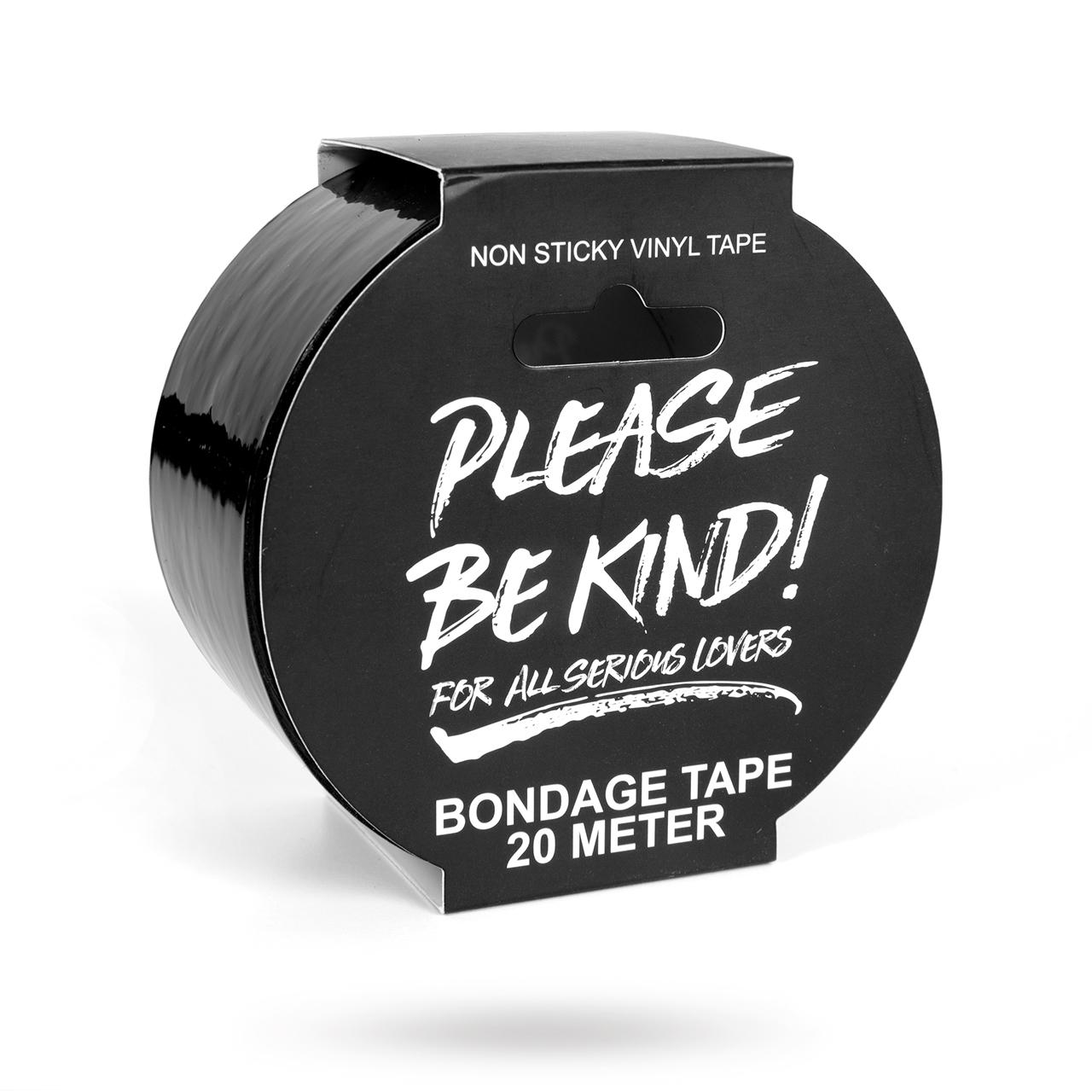 Svart Bondage Tejp - 20 m | Brands, Passion by Sweden, Please Be Kind, SEXLEKSAKER, BONDAGE & FETISH, Rep & Tejp | Intimast.se - Sexleksaker
