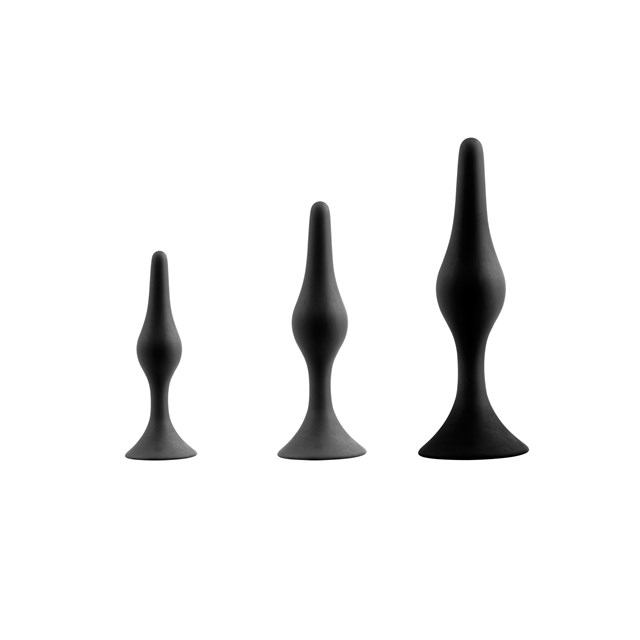 KINKY Is The New Black - Buttplug Set #1