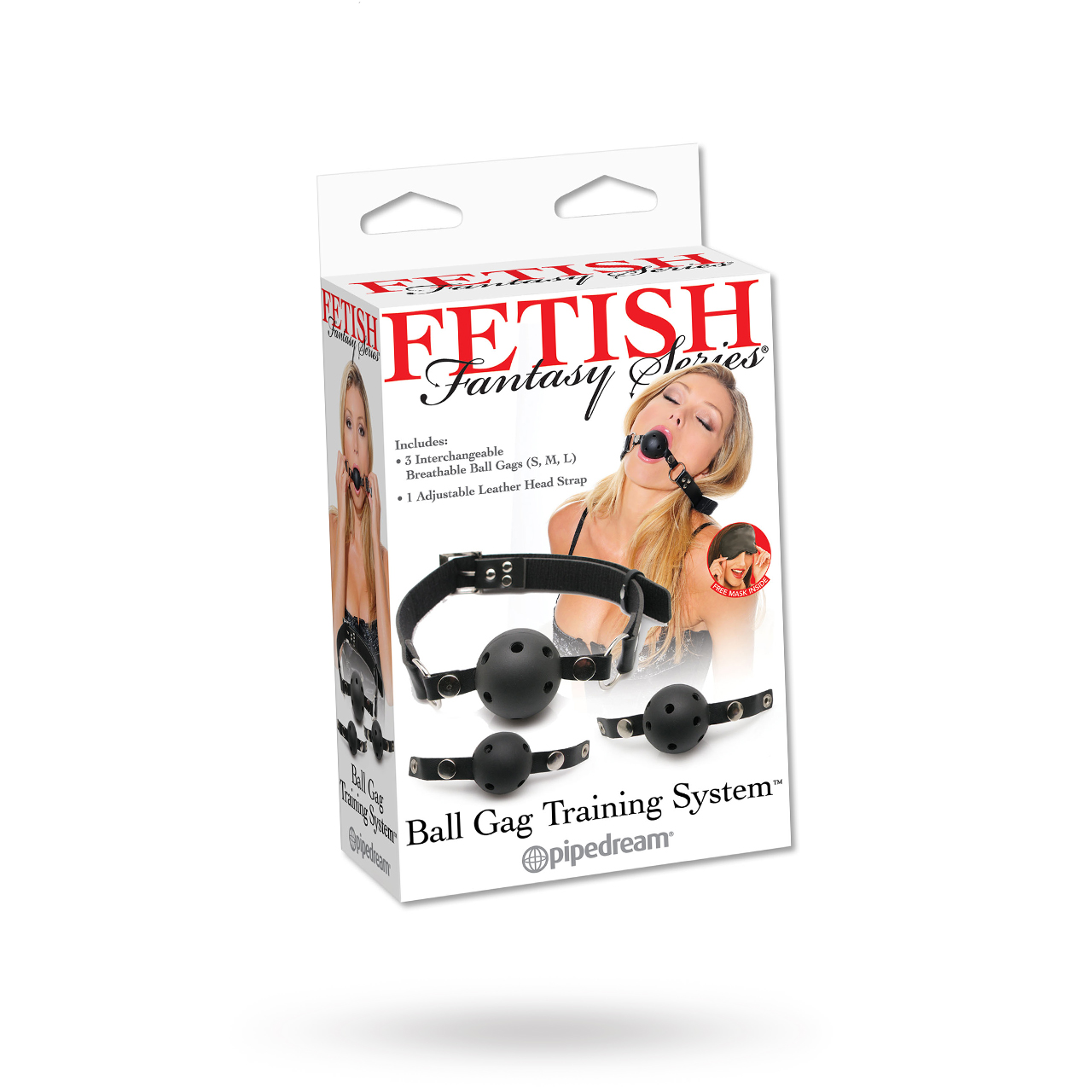 Ball Gag Training System | Brands, Pipedream, Fetish Fantasy, SEXLEKSAKER, BONDAGE & FETISH, Gags & Munkavlar | Intimast.se - Sexleksaker