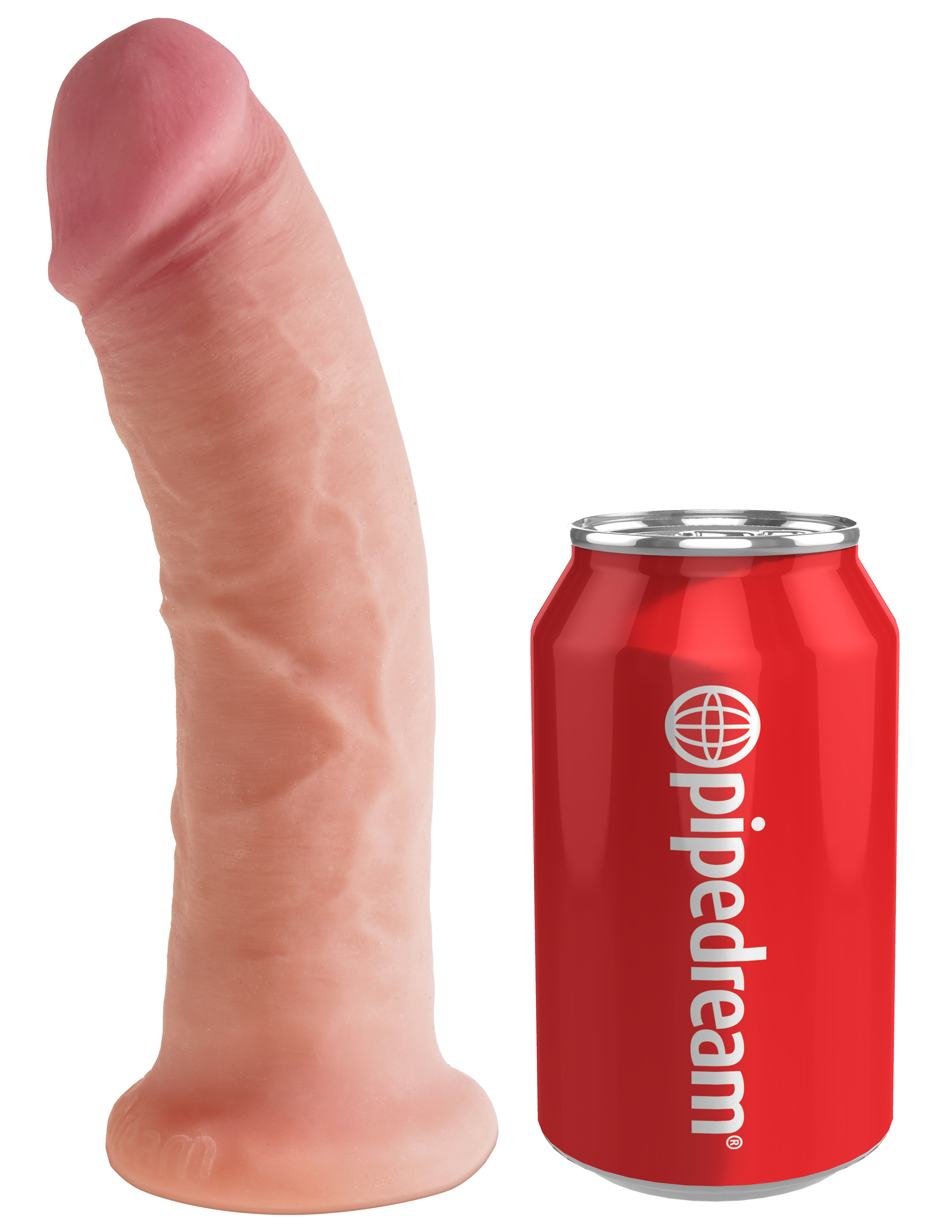 King Cock Plus Dual Density 19cm - Flesh