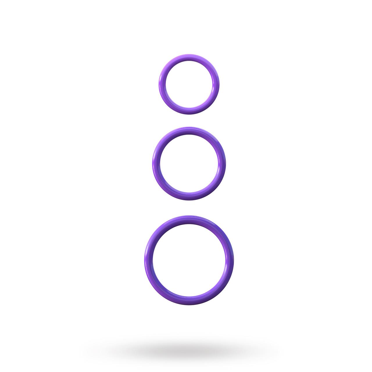 Silicone 3 Ring Stamina S