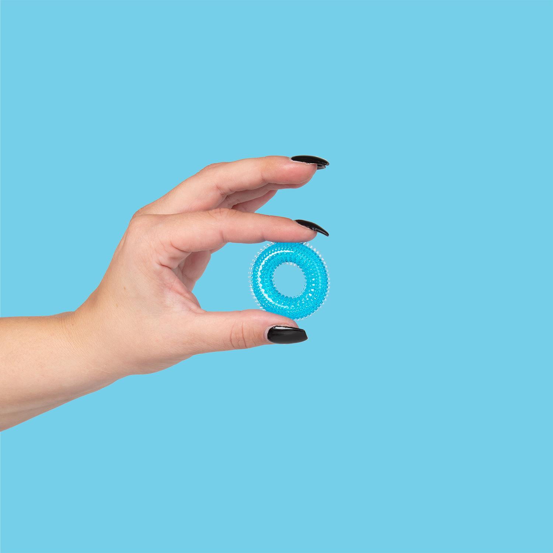 Stretchig Blå Penisring | INSPIRATION, FAVORITER TILL HONOM, Penisringar för bättre erektion, Brands, Sustainable Pleasure, SEXLEKSAKER, MEST FÖR HONOM, Penisringar | Intimast.se - Sexleksaker