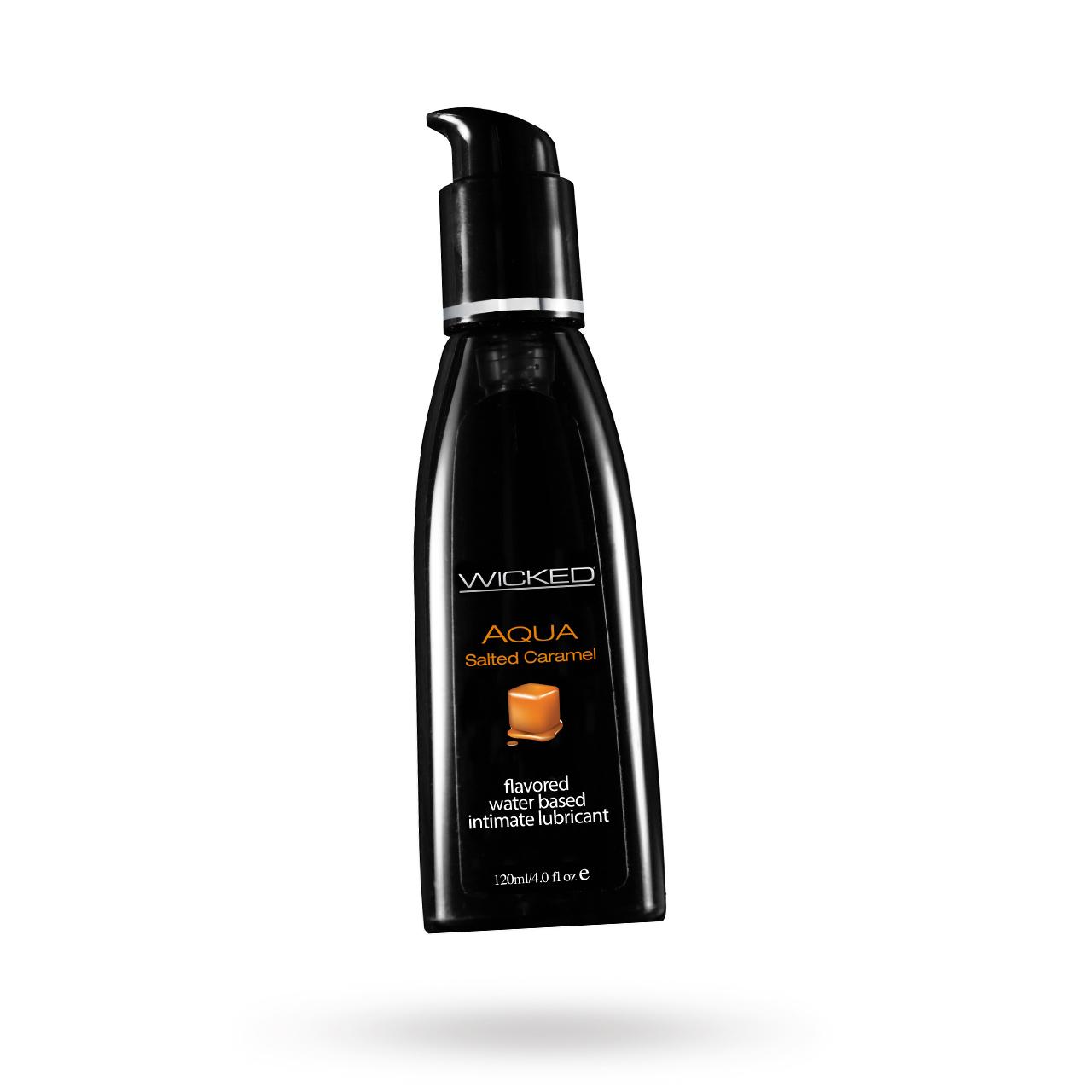 AQUA Salted Caramel | Brands, Wicked Sensual Care, GLIDMEDEL ETC., GLIDMEDEL, Vattenbaserade glidmedel | Intimast.se - Sexleksaker