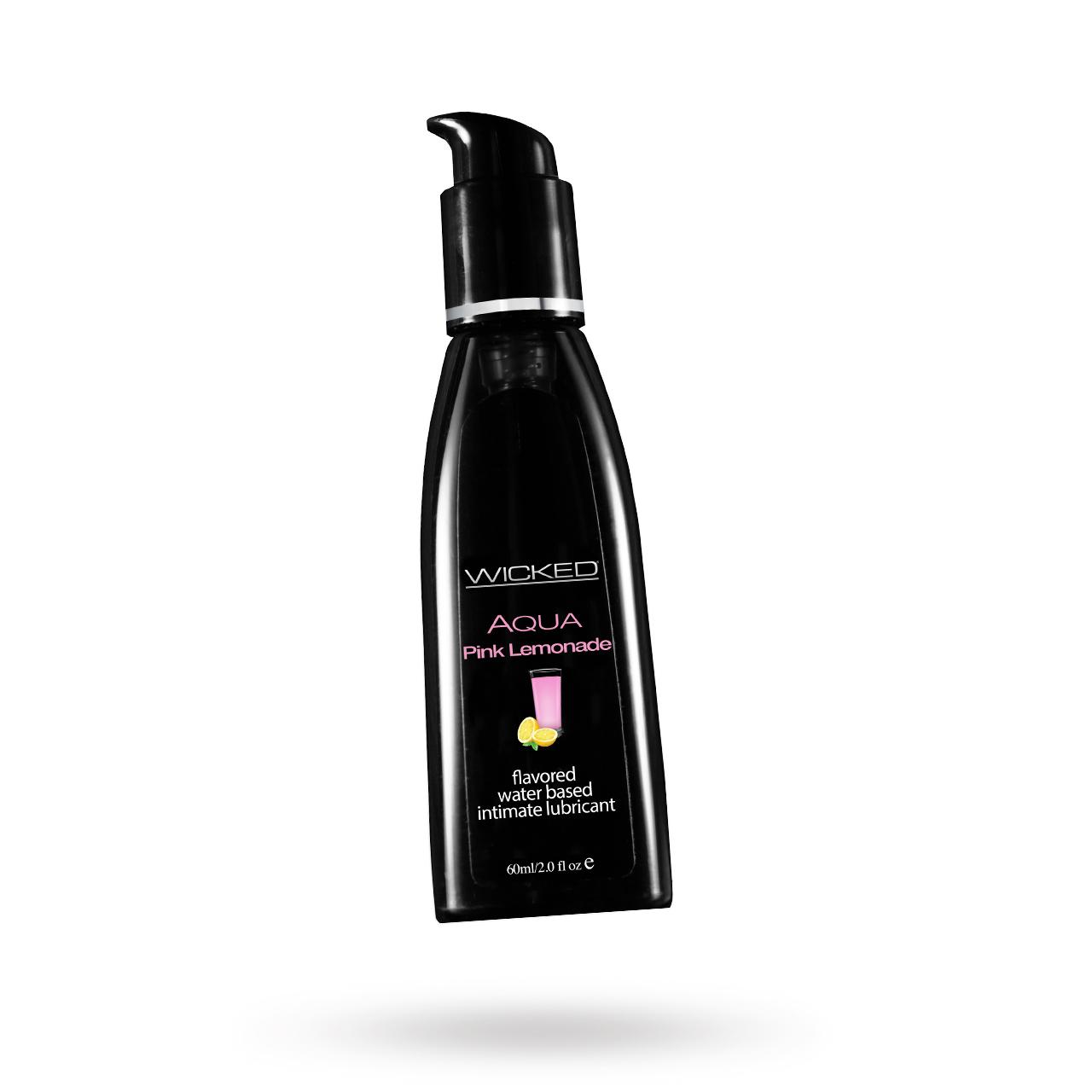 AQUA Pink Lemonade | Brands, Wicked Sensual Care, GLIDMEDEL ETC., GLIDMEDEL, Vattenbaserade glidmedel | Intimast.se - Sexleksaker